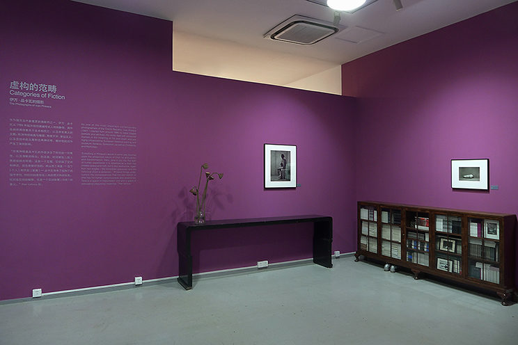 Instalation view - Categorie of Fiction